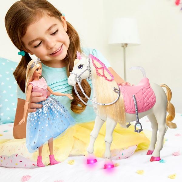 Barbie Princess Adventure Prance & Shimmer Horse