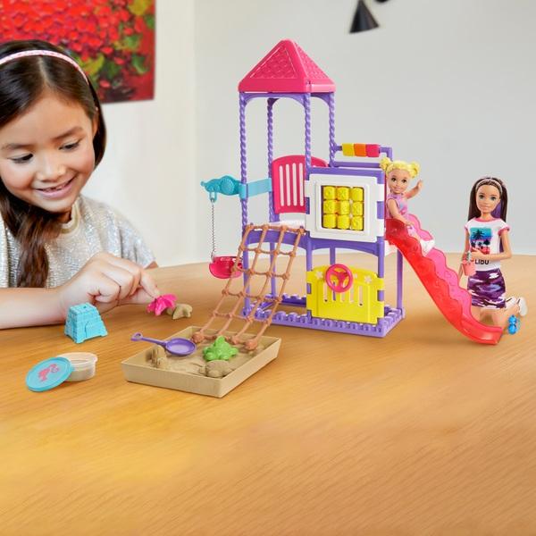 Barbie Skipper Babysitters Inc Climb 'n' Explore Playground Dolls and Playset