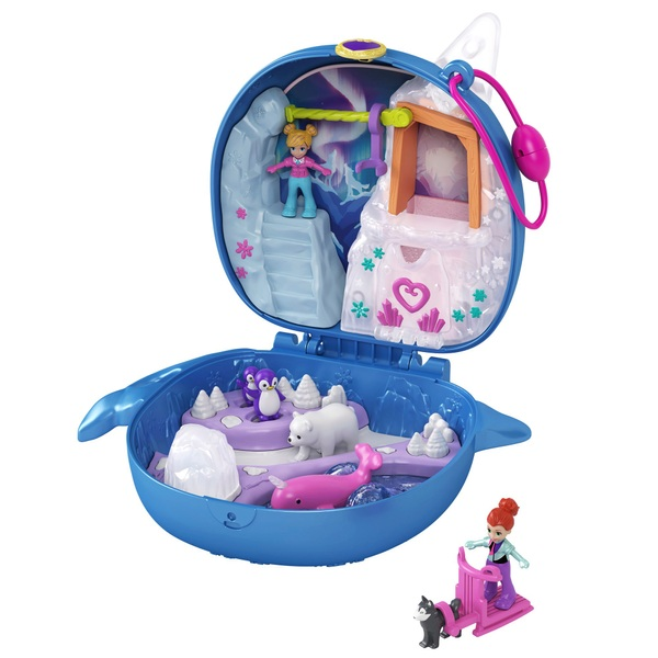Polly Pocket World Narwhal Arctic Compact