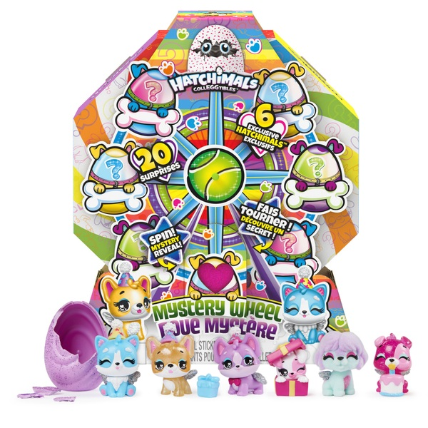 Hatchimals CollEGGtibles Puppy Party Mystery Wheel
