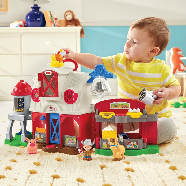 Fisher Price Little People Caring For Animals Farm Smyths Toys Uk