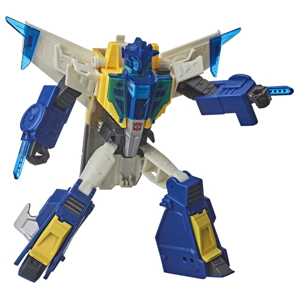 Meteor Fire Transformers Cyberverse Trooper Class Battle Call Figure