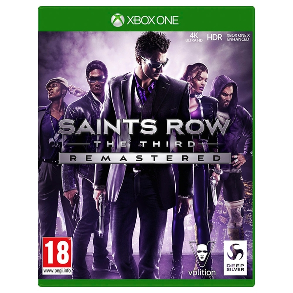 Saints Row The Third Remastered Xbox One