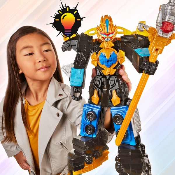 Power Rangers Beast Morphers Beast-X King Ultrazord Action Figure