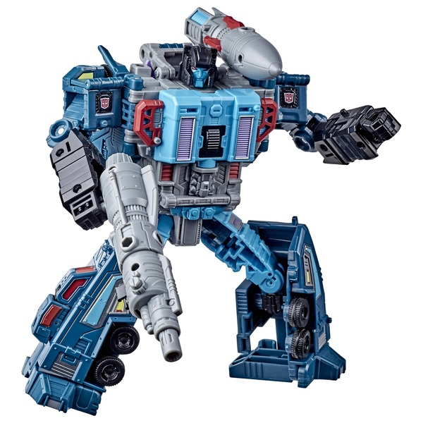 Double-Dealer Transformers War For Cybertron Earthrise Leader Collectible Action Figure