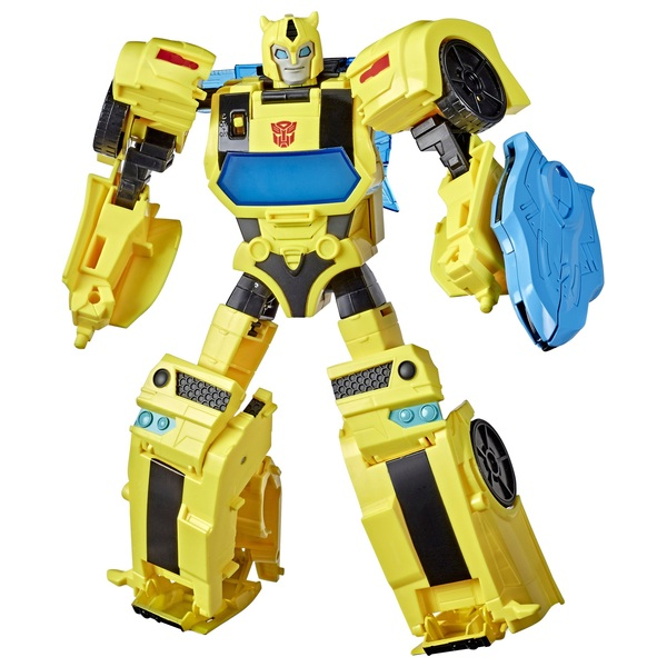 Bumblebee Transformers Cyberverse Adventures Battle Call Officer Class Action Figure