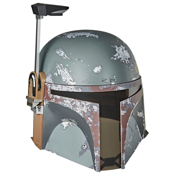 Star Wars The Black Series Boba Fett Premium Electronic Collectible Helmet