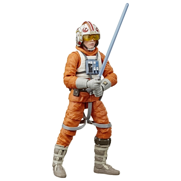 Star Wars The Black Series Luke Skywalker Snowspeeder Collectible Action Figure