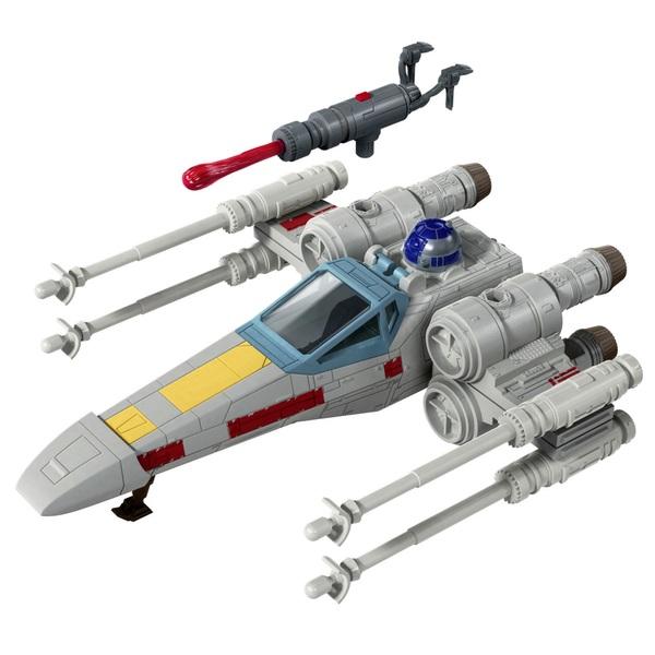 Star Wars Mission Fleet Stellar Class Luke Skywalker X-wing Fighter Figure and Vehicle