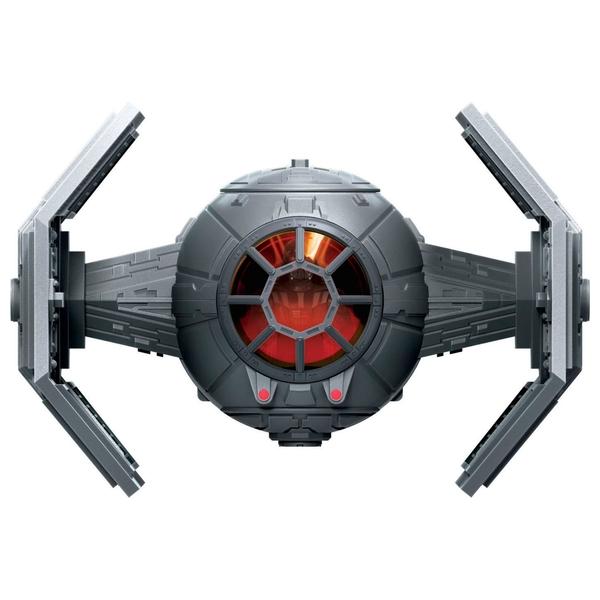 Star Wars Mission Fleet Stellar Class Darth Vader TIE Advanced Figure and Vehicle