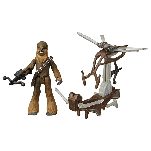 Star Wars Mission Fleet Gear Class Chewbacca Beachfront Barrage Figure and Vehicle