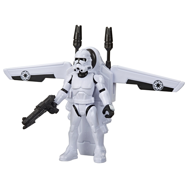 Star Wars Mission Fleet Gear Class Clone Trooper Arena Rescue Figure and Vehicle