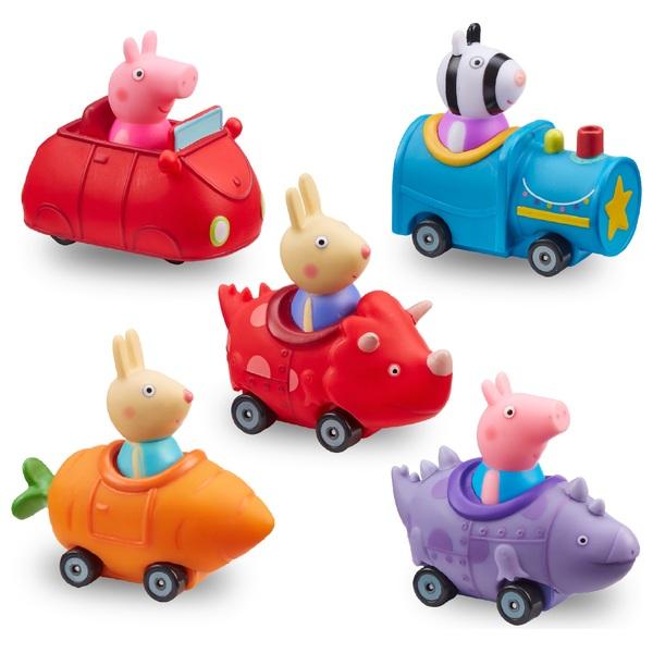 Peppa Pig 5 Mini Vehicles Multi-pack