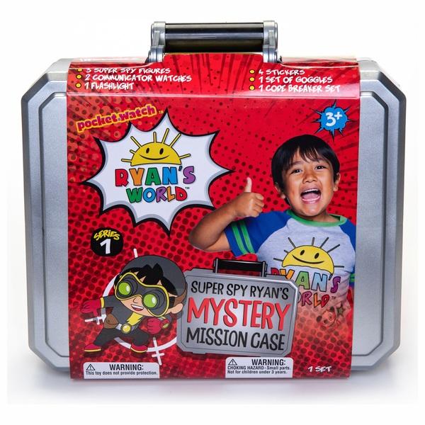 Ryan's World Mystery Mission Case