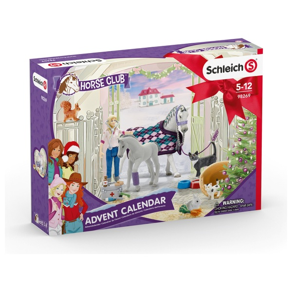 - Schleich 98269 Horse Club Adventskalender 2020 - Onlineshop Smyths Toys