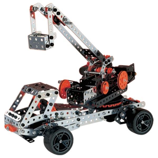 Meccano Super Construction 25-in-1 Motorized Building STEAM Education Set