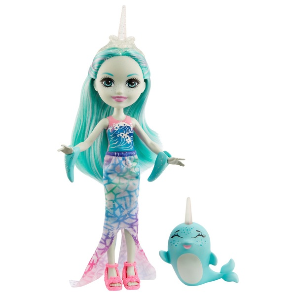 Enchantimals Naddie Narwhal Doll and Sword