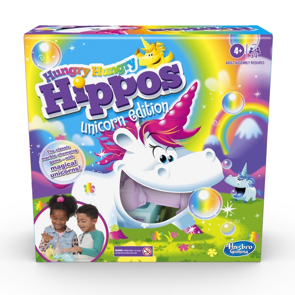 Hungry Hungry Hippos Unicorn Edition