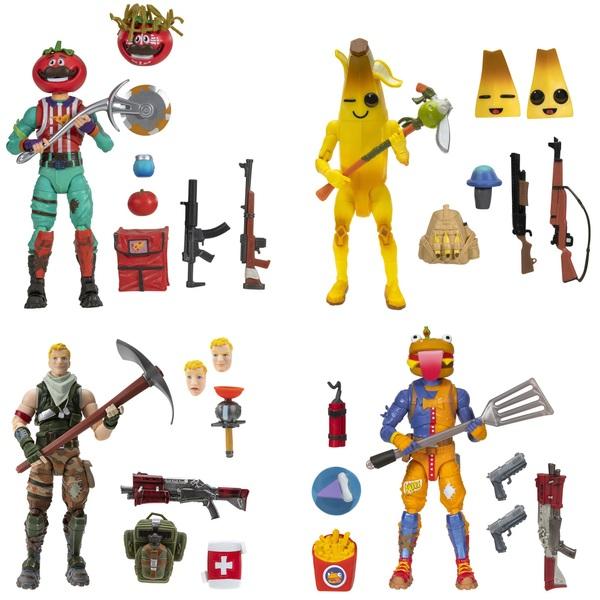 Fortnite Legendary Squad Mode 15cm Figure 4 Pack