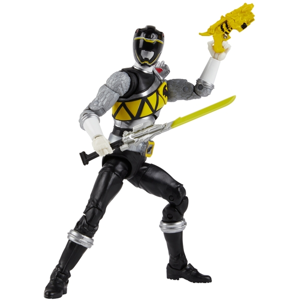 Power Rangers Lightning Collection 15cm Dino Charge Black Ranger Figure