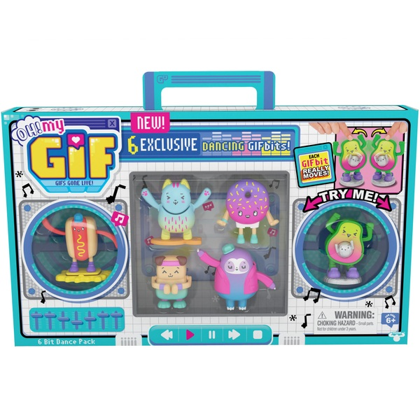 OH! MY GIF 6 Pack Dancing GIFBits