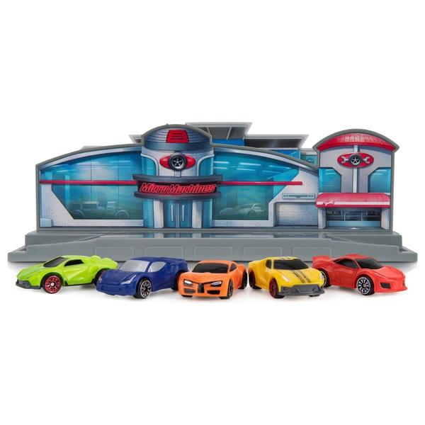 Micro Machines World Pack- Micro City - Super Cars