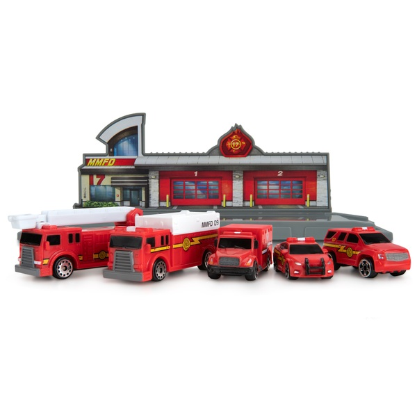 Micro Machines World Pack - Micro City - Fire & Rescue