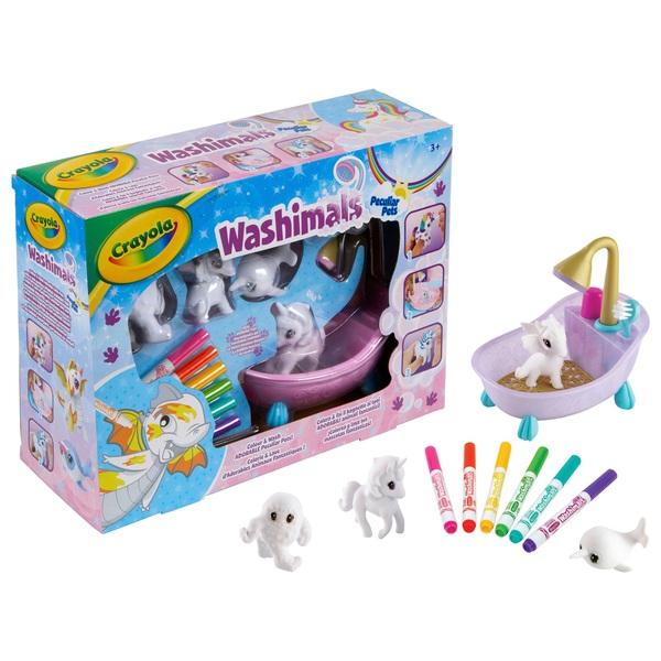 Crayola Washimals Peculiar Pets Playset