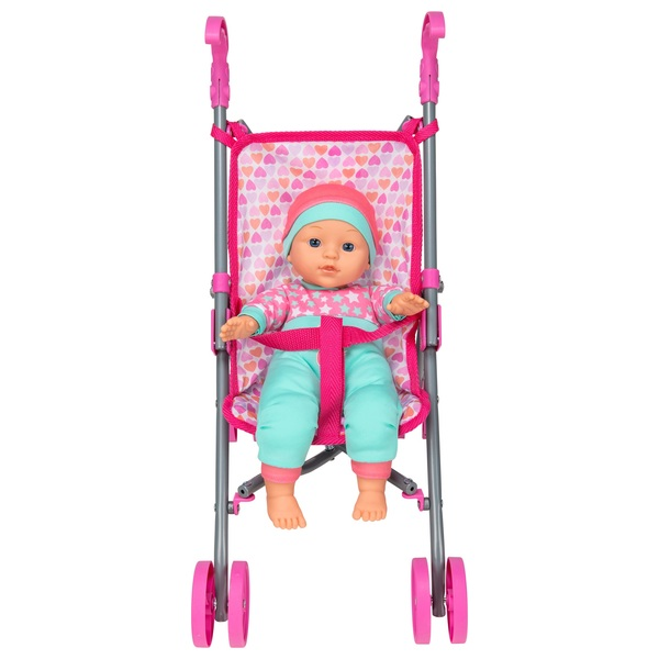 Baby Doll with Stroller Assortment