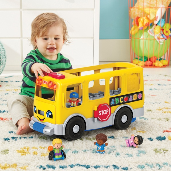 Fisher-Price Little People Big Yellow School Bus