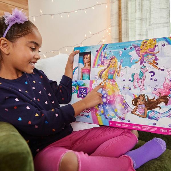 - Barbie Dreamtopia Adventskalender 2020 mit Puppe und Puppen Zubehör - Onlineshop Smyths Toys