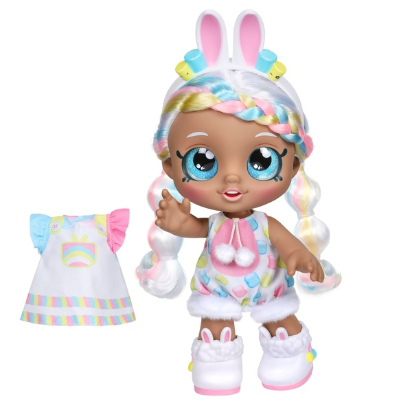 Kindi Kids Marsha Mello Bunny Dress Up Friends 25cm Toddler Doll