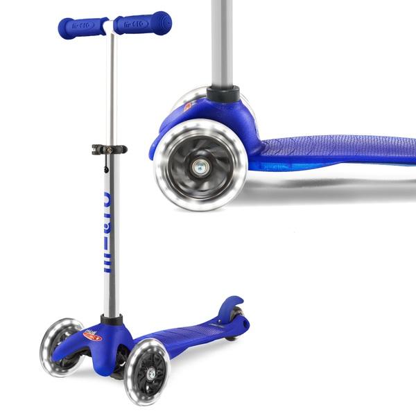 Mini Micro Plus Blue LED Scooter