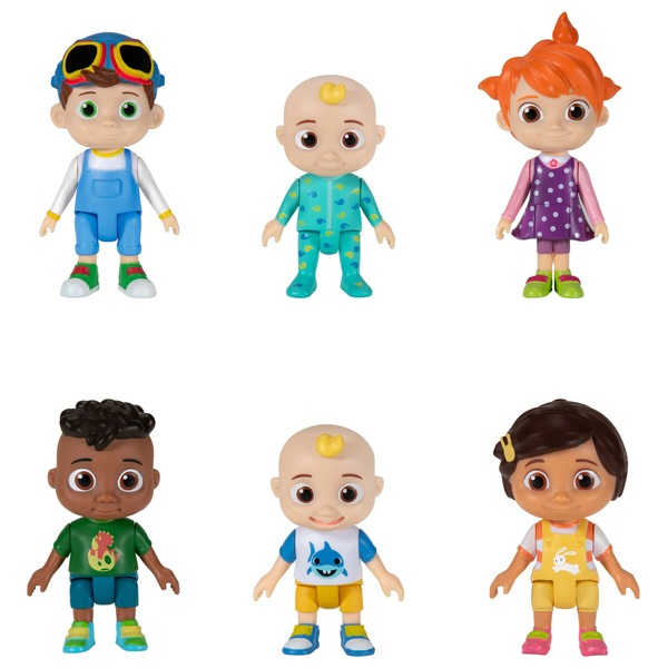 CoComelon Family and Friends 6 Figure Pack