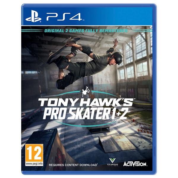 Tony Hawk's Pro Skater 1 & 2 PS4
