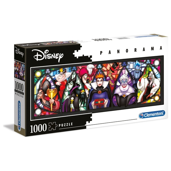 Clementoni Disney Villains 1000 Piece Panorama Puzzle