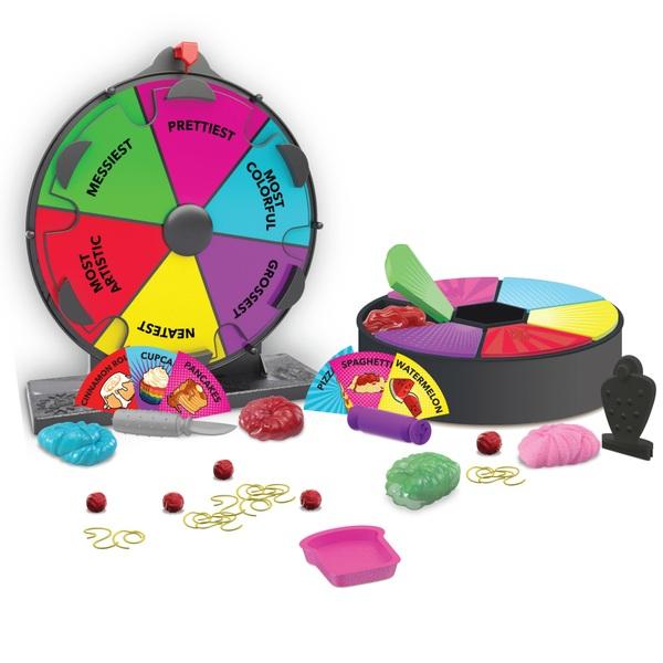 Collins Key Fake Food Mystery Challenge Wheel