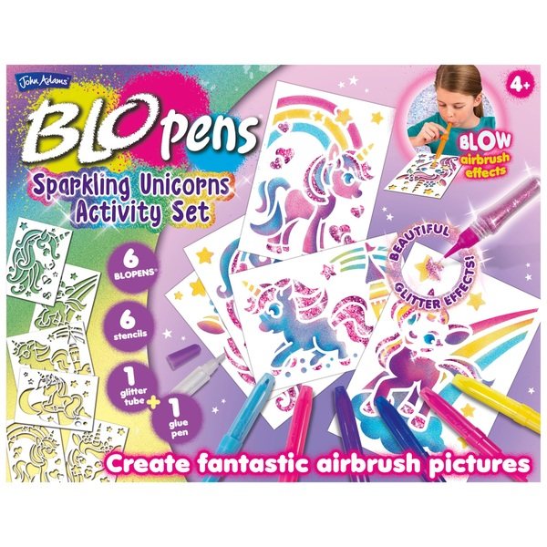 BLOPENS Sparkling Unicorn Activity Set