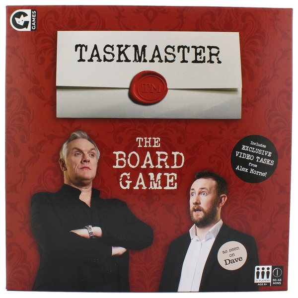 Taskmaster The Board Game
