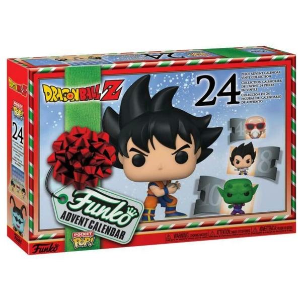 - Dragon Ball Z POP! Vinylfiguren Adventskalender - Onlineshop Smyths Toys