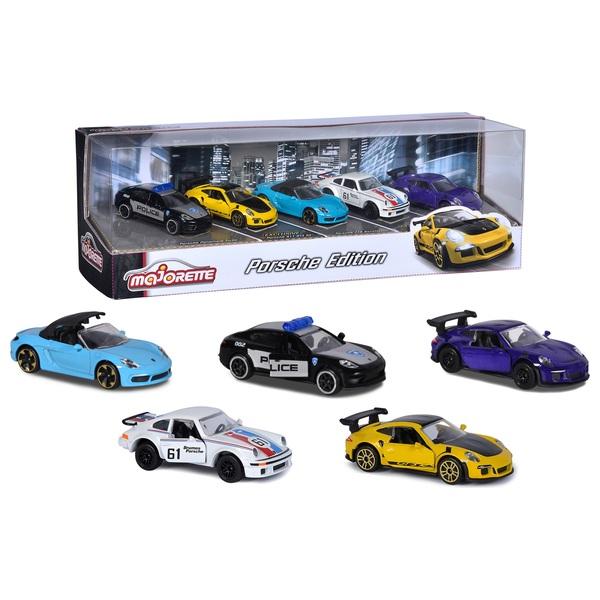 Majorette Porsche Diecast 5-Pack