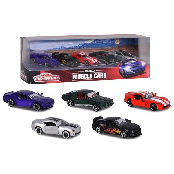 Majorette Muscle Cars Diecast 5-Pack