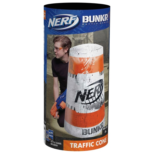 NERF Bunkr Take Cover Traffic Cone