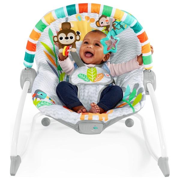 Safari Blast Infant to Toddler Rocker