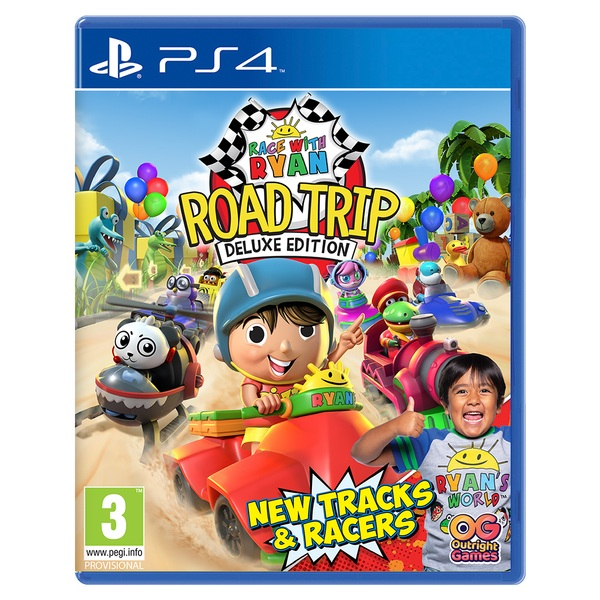 Race with Ryan: Road Trip Deluxe Edition PS4