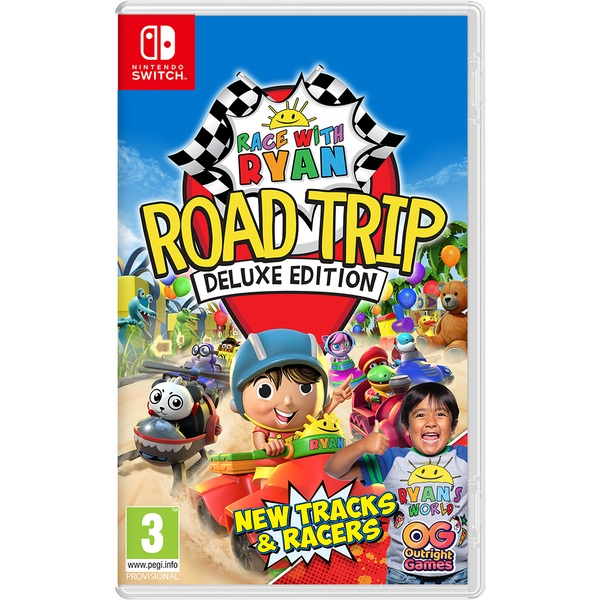 Race with Ryan: Road Trip Deluxe Edition Nintendo Switch
