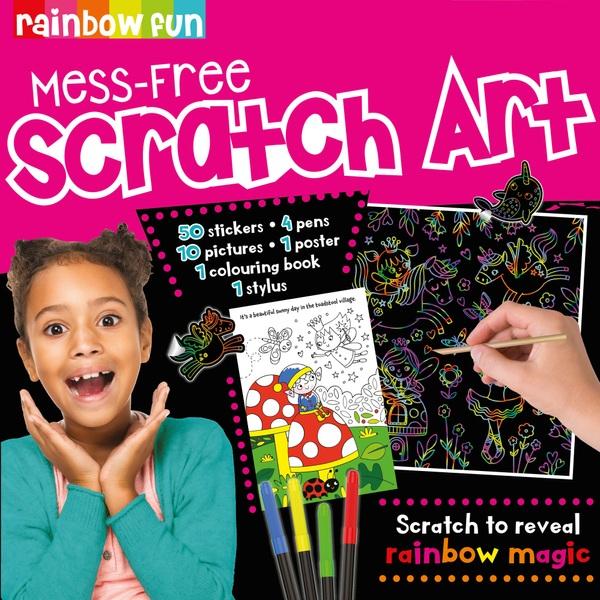 Mess-Free Scratch Art