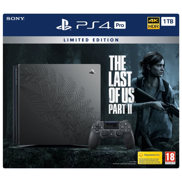 PlayStation 4 Pro Limited Edition The Last of Us Part II Console