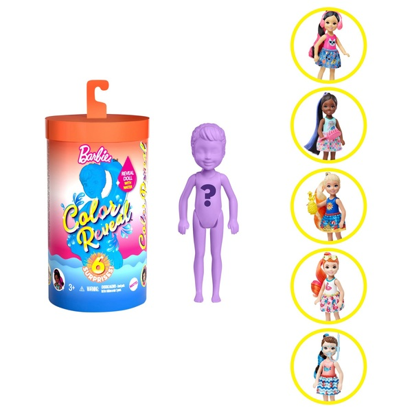 Barbie Colour Reveal Chelsea Doll with 6 Surprises