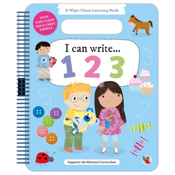 Wipe Clean Learning: I Can Write 123